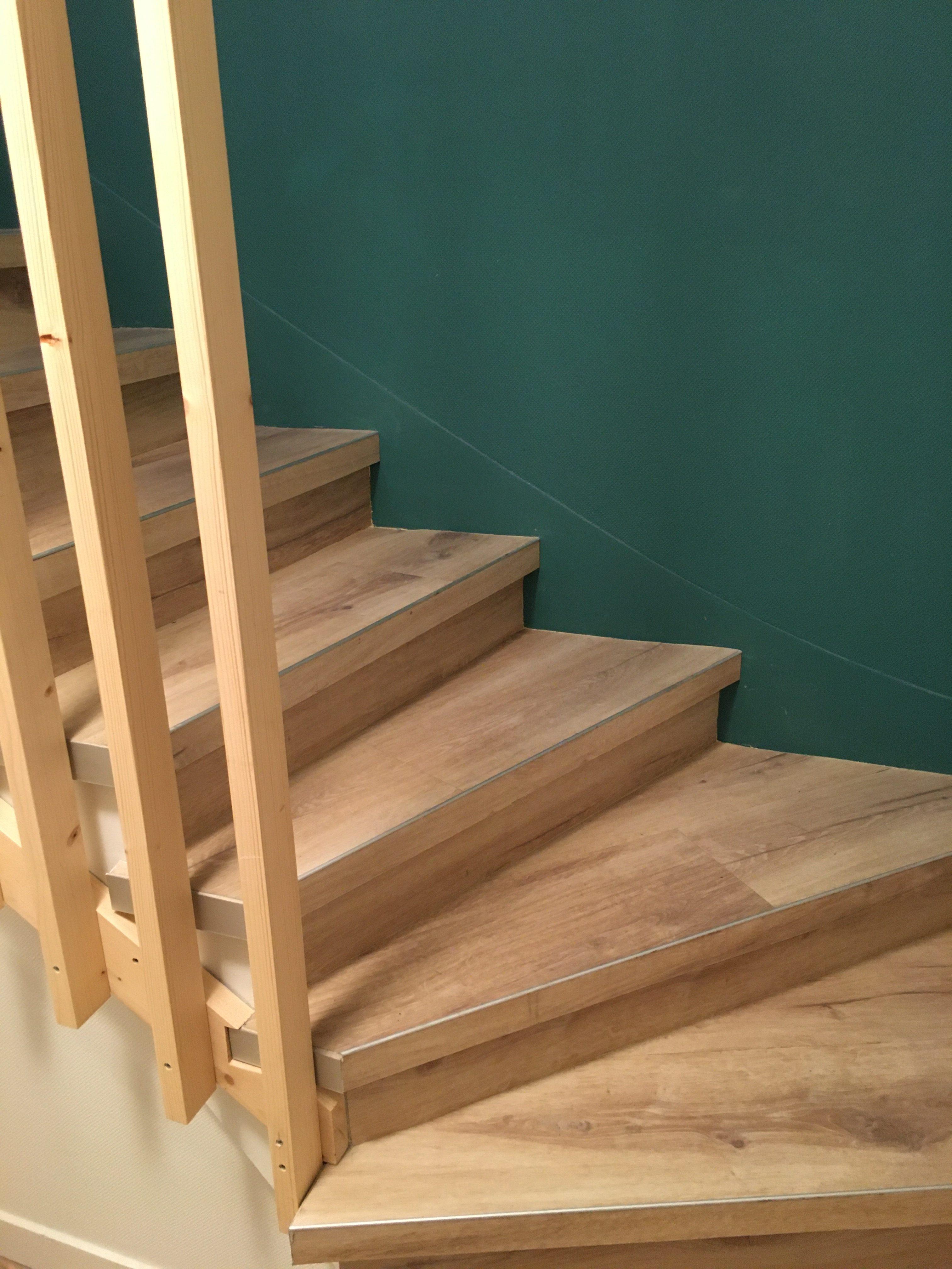 escalier PVC sur carrelage